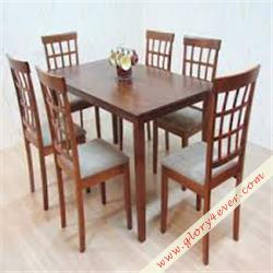 GRID DINING SET 1+6
